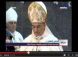 Bishop Gets Busy on Smart Phone, Snoozes During Mass