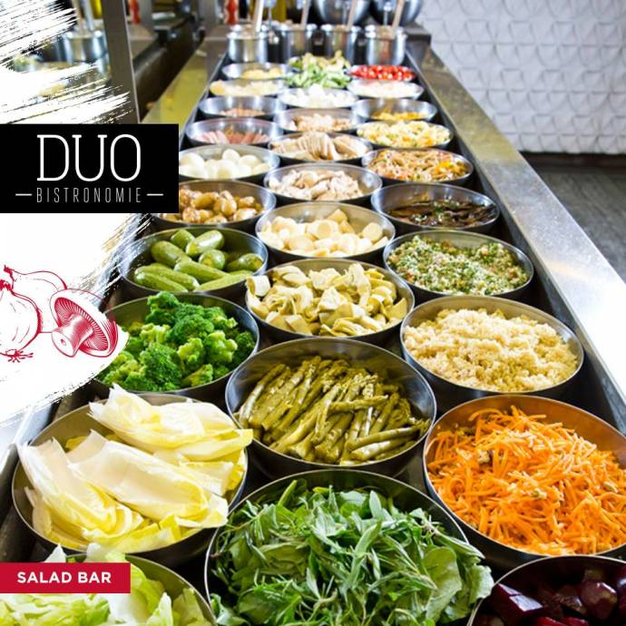 Our Guide To The Best Salad Bars In Town Beirut