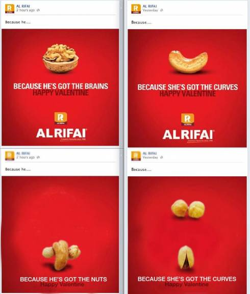 Are Al Rifai S Valentine S Day Ads Sexist Beirut Com Beirut