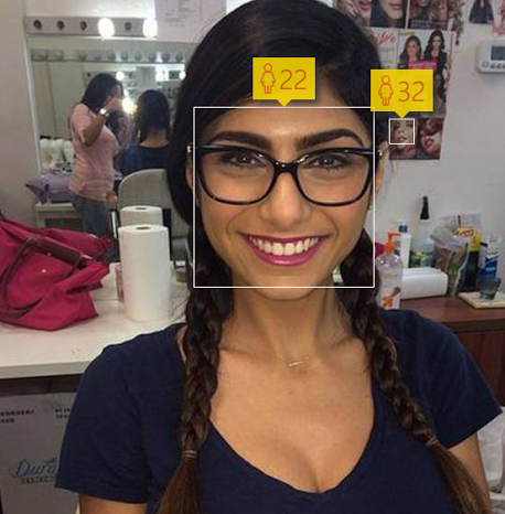 a810561bfd46 Renowned Lebanese actor Mia Khalifa looks exactly 22 but not younger. So if  you see her and she asks